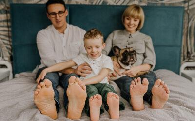 Sesja ciążowa rodzinna