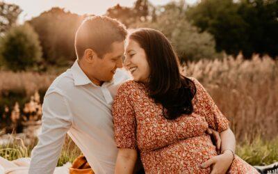 Sesja ciążowa Pauliny i Daniela