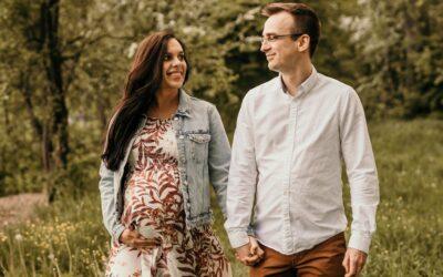 Sesja ciążowa Asi i Tomka